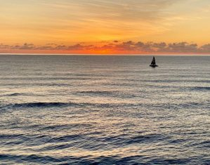 Princess Ocean View with sailboat